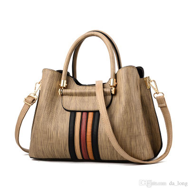 8457cfb8538 Da_long2018 New Pu Fabric, European And American Style Handbag ...