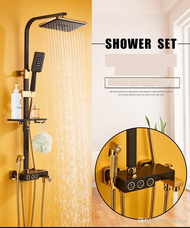 2018 Bath Shower Suit Big Round Head And Hand Shower Spray ...