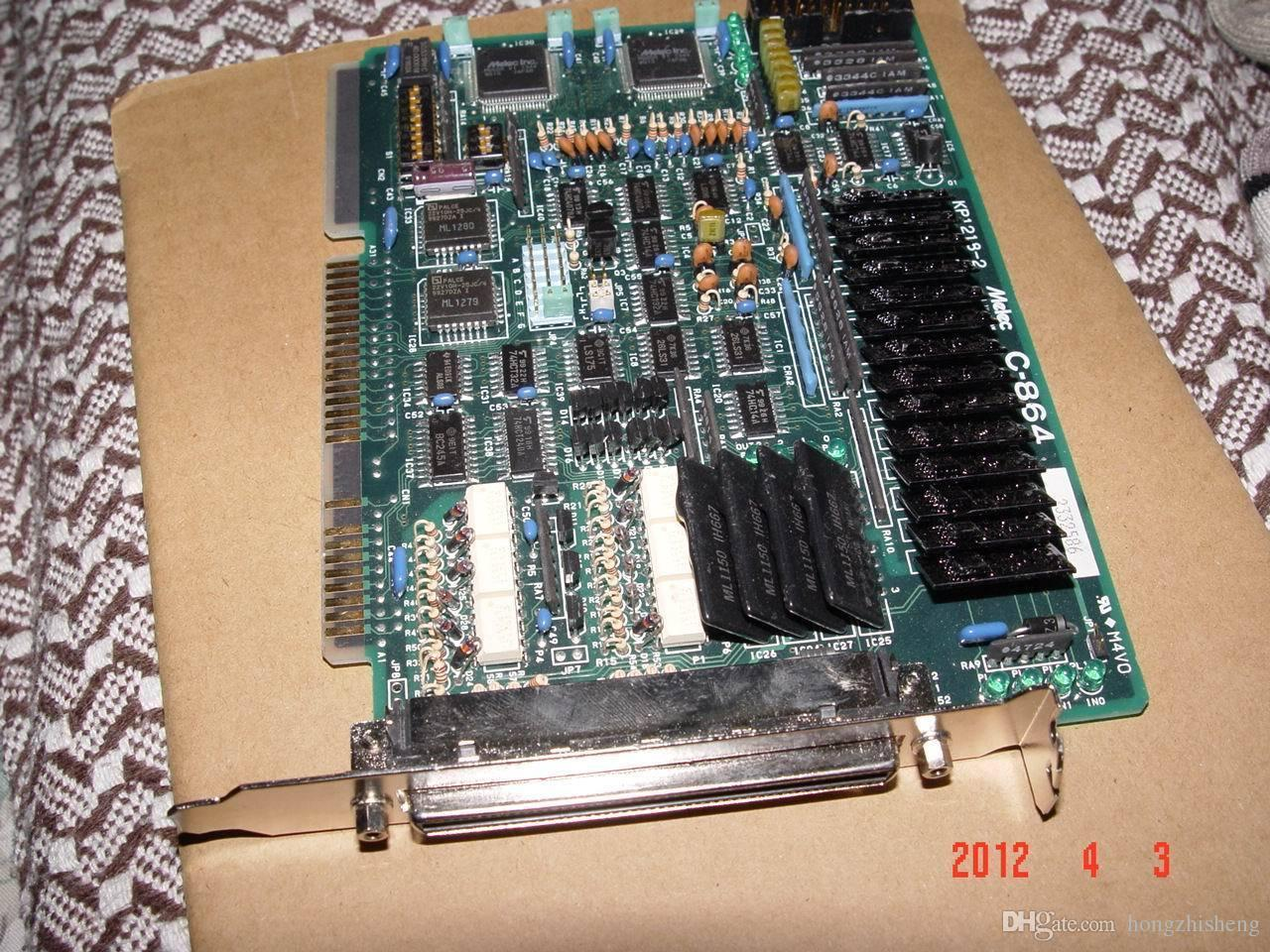 C-864 motor servo kontrol kartı KP1218-2 ISA kartı 100% test mükemmel kalite
