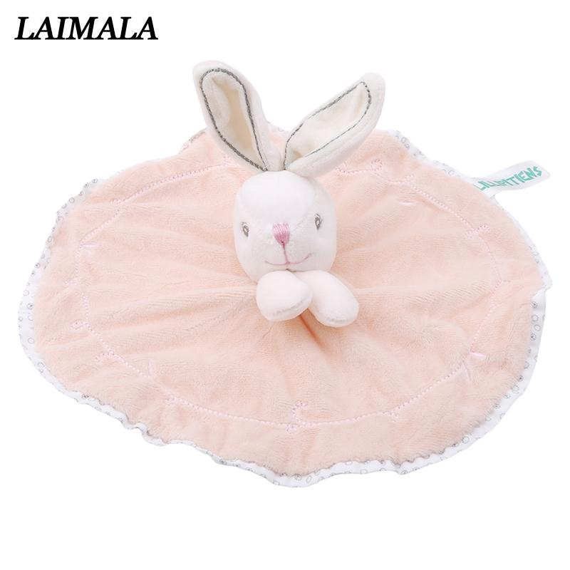 87f9e21a4 2019 Newborn Baby Bunny Soothing Towel Girls Boys Comfort Toys ...