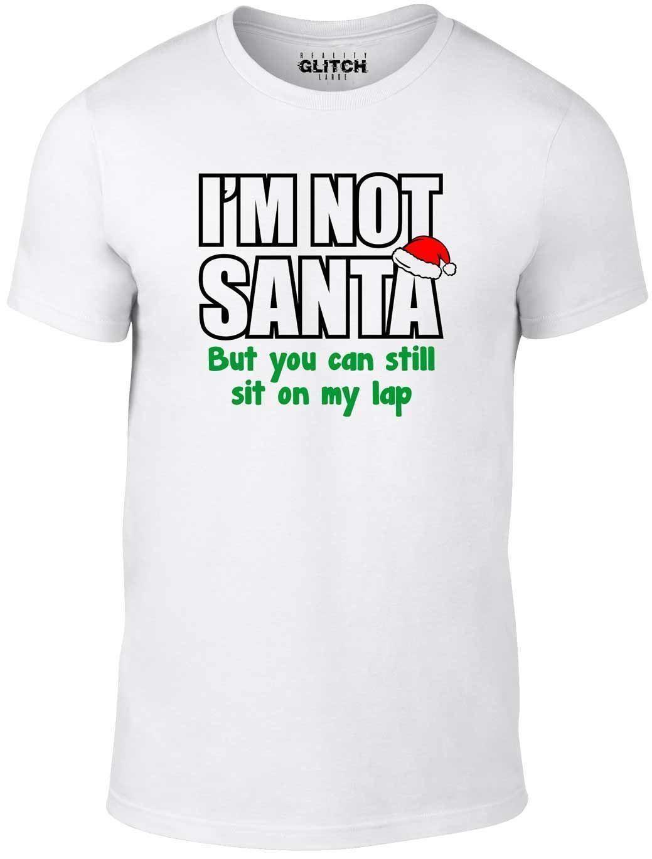 24a00307 Men's I'm Not Santa T-Shirt Cheeky Christmas Festive Funny Xmas Festive