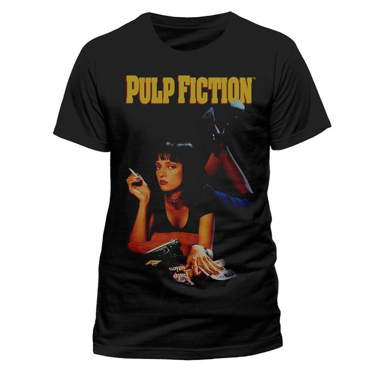 adf84f4e8 Pulp Fiction Mia Wallace Uma Thurman Official Tee T Shirt Mens Unisex Print Shirt  Long Sleeve Tee Shirts From Nothingshirt, $13.19| DHgate.Com