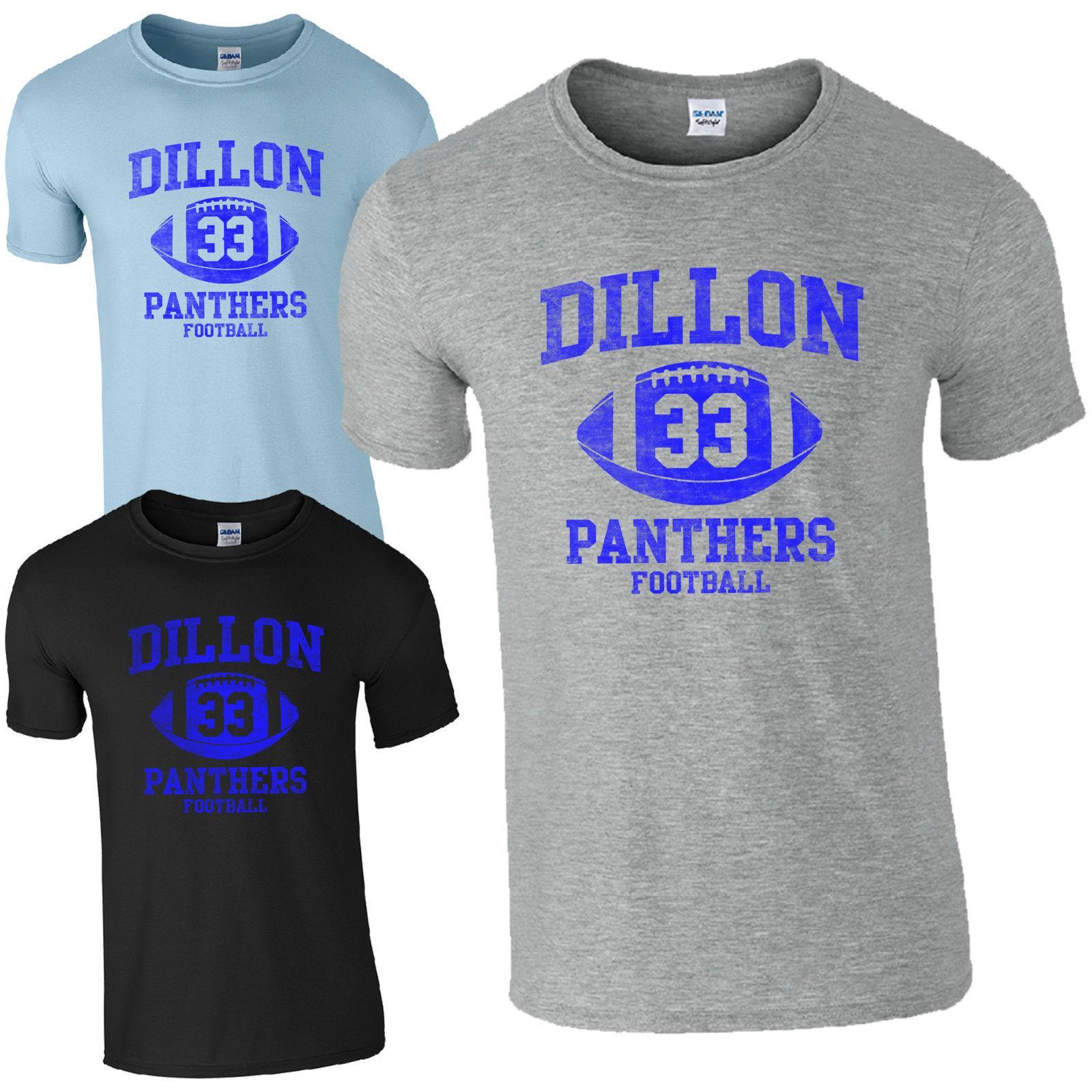 Compre T Shirt Das Panteras 33 Do Futebol Americano De Dillon Luzes Da  Noite De Sexta Feira Tim Riggins De Beidhgate05 835772c2d65