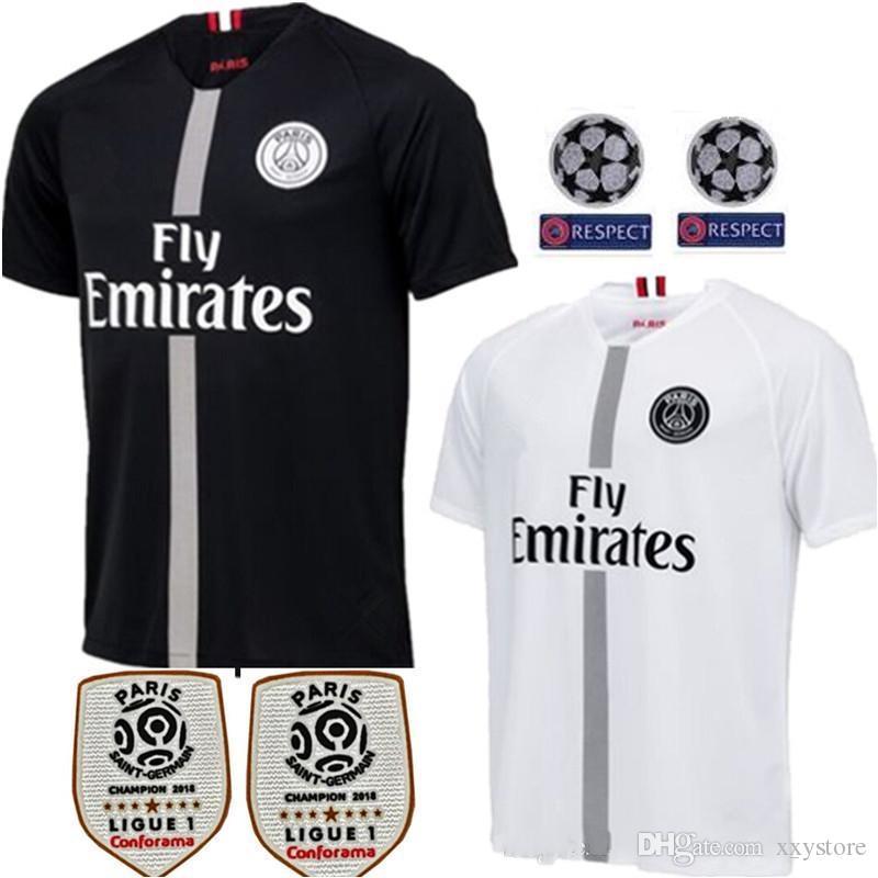 pretty nice 28a73 03d0f Paris Saint Germain PSG Soccer Jersey 7 Mbappe 6 Verratti 9 Cavani 32 DANI  ALVES 11 DI MARIA NEYMA 10 Football Shirts WOMEN man Kids Kits