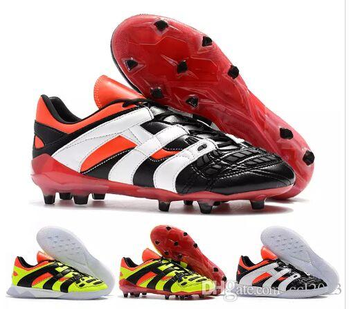 833f1a4dc092 2019 New Style Predator Accelerator 1998 Electricity David Beckham FG  Soccer Cleats Mens Soccer Shoes Football Boots Wholesale Drop Shipping From  Ccl2013, ...
