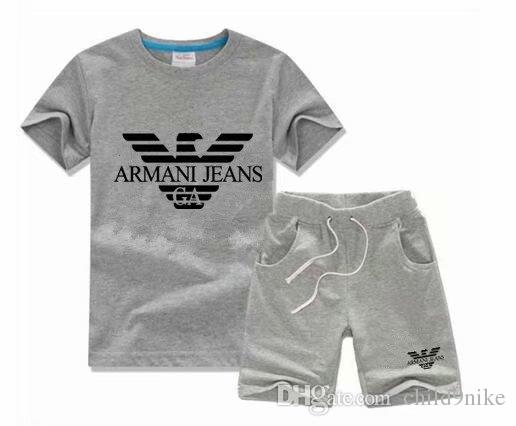 Boys animal applique tops pants outfits kids fashion clothing