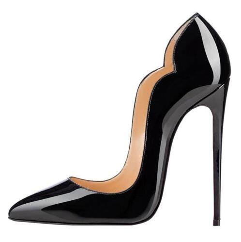 e94bf5880c20 ... Femme Talons Hauts Escarpins Rouge Talons Hauts 12CM Femmes Talons  Hauts Chaussures De Mariage Pompes Noir Nude Plus La Taille 35 44 Avec 8 Cm  10 Cm 12 ...