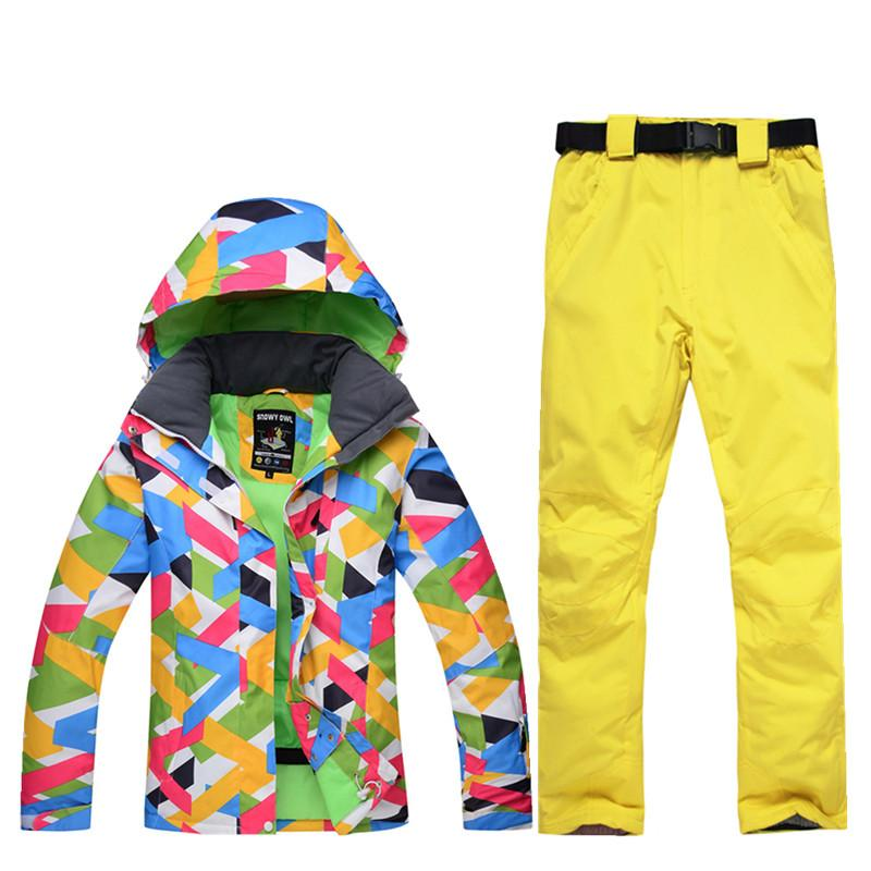 18447c9c97 30 New Ski Suit Suit Female Windproof Waterproof 10000 Winter High ...