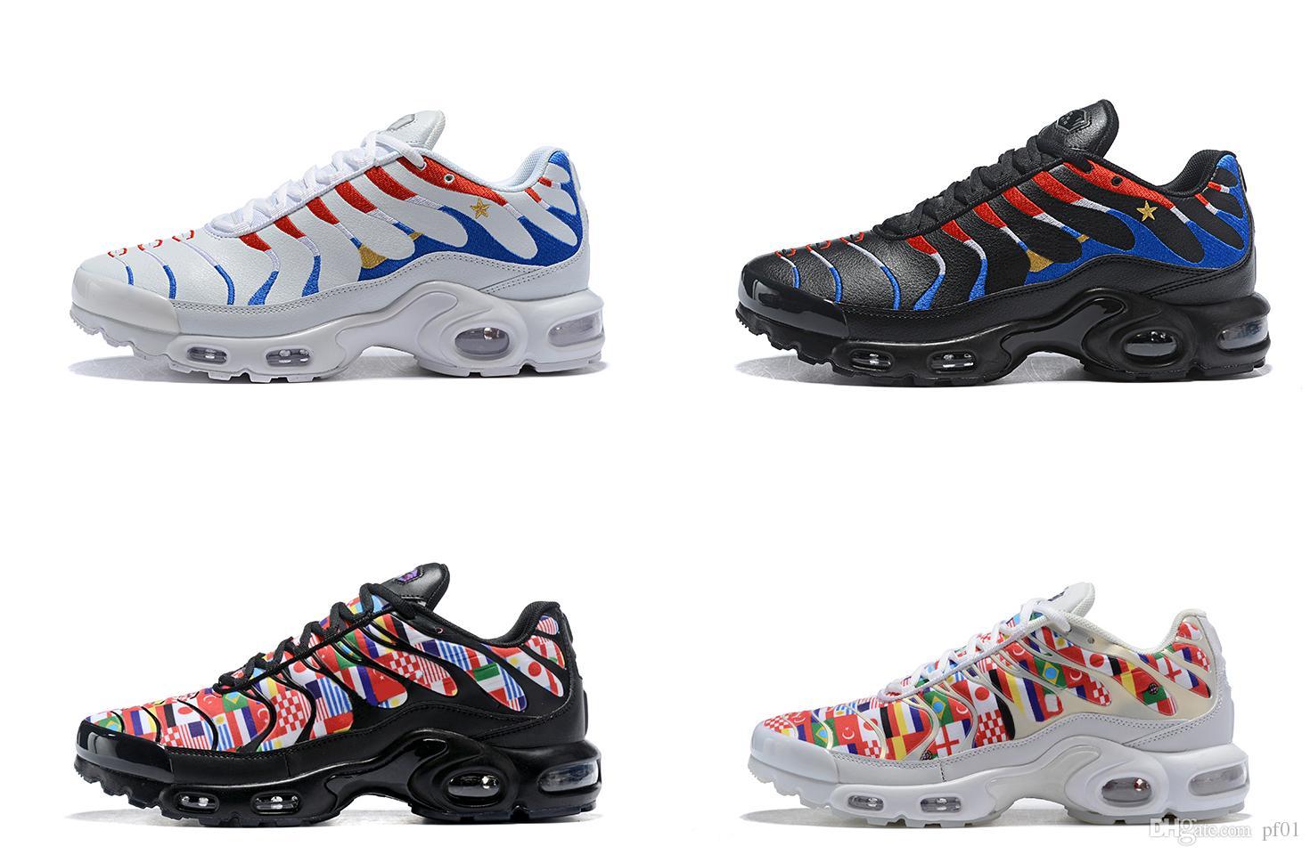 d8276b6d0e5d6 2018 New Arrive High Quality Plus TN Men Women Running Shoes TN ...