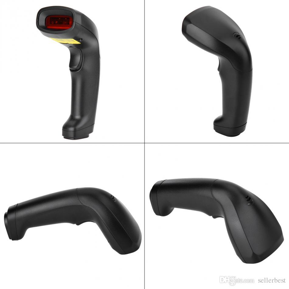 Wired Handheld USB Barcode Scanner CCD Bar Code Reader For Mobile Payment Computer Screen ScanWired Handheld USB Barcode Scanner CCD Bar Cod