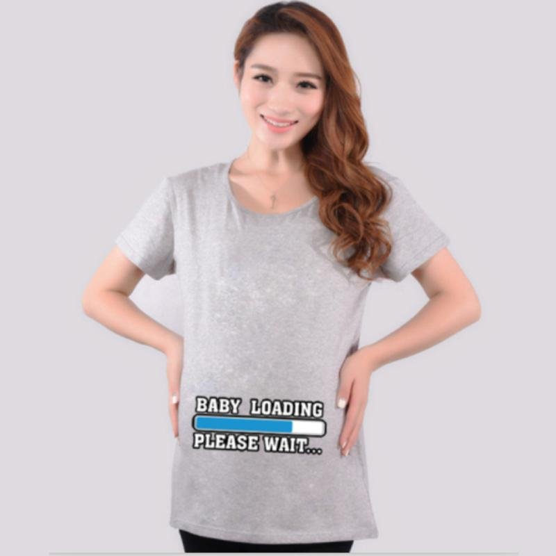 b77486df5b928 2019 2018 New Summer 27 Style Gray Maternity Funny Baby Tops Clothes ...