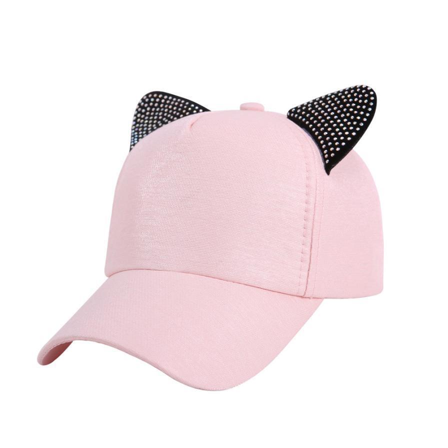 Women Hat Summer 2018 Cute Baseball Caps For Girls Women Baseball Cap Hip  Hop Adjustable Performance Curve Cap Casquette A8 Flat Caps Trucker Caps  From Ekkk ... 5cd98750087