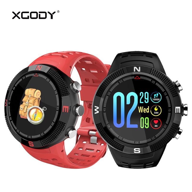 Ip68 F18 Cardíaco Xgody Libre Reloj Aire Original De Smartwatch Al Podómetro Monitor Inteligente Deporte Ritmo Para A 5ARL3jq4