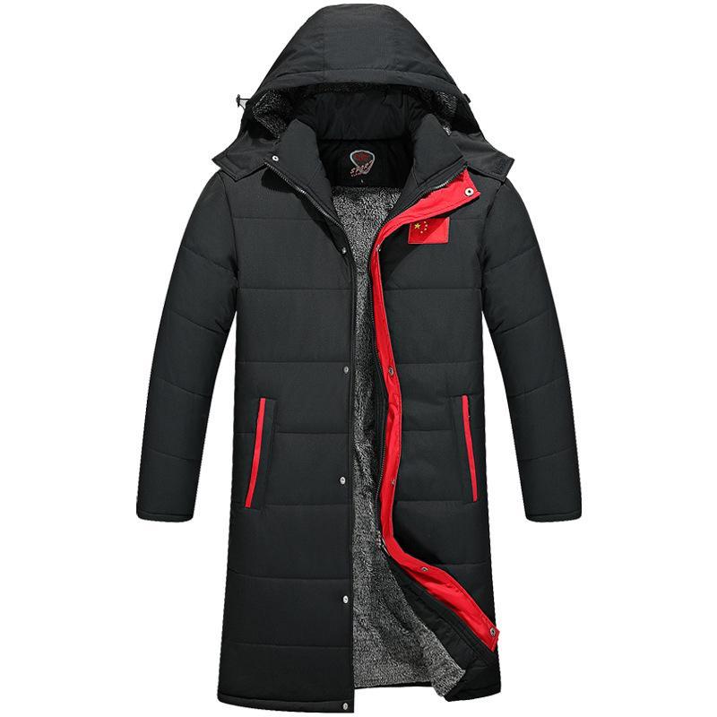 Großhandel 2018 Neue Winter Lange Jacke Baumwolle Dicke Männliche  Hochwertige Lässige Mode Parkas Baumwolle Mantel Männer Kleidung Chamarras  Para Hombre Von ... f30f7a42a9