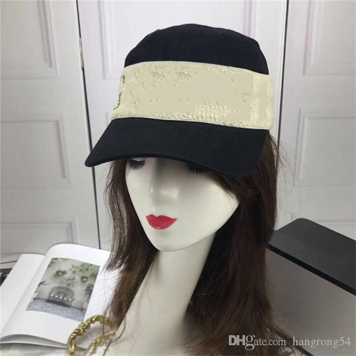 6d85b0beb4463 2019 2018 High Quality Cotton Hat For Men Women Luxury Black Color Baseball  Cap Hats Wholesale Spring Summer Hat On Promotion From Hangrong54