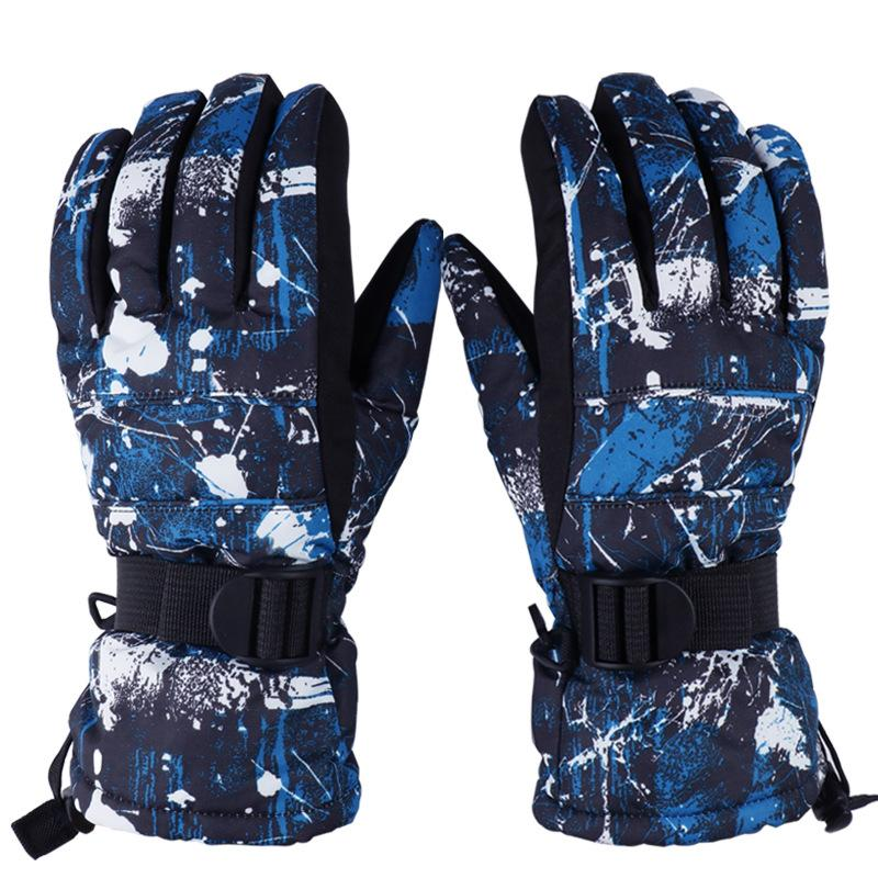 Skiing Snow gloves Waterproof Windstop Winter Outdoor Cycling Warm Protection Thick Gloves Fashine Unisex