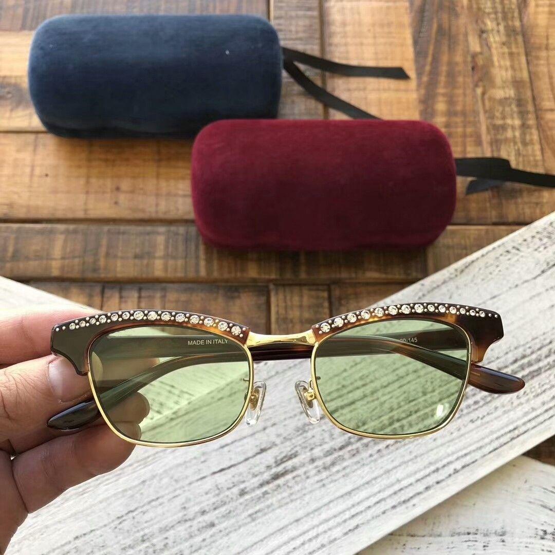New qualidade superior 0235 mens óculos homens vidros de sol mulheres óculos de sol estilo de moda protege os olhos Óculos de sol lunettes de soleil com caixa
