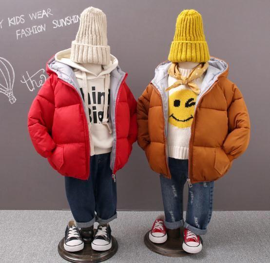 8cfdfddd591a 2018 Children Jackets Boys Girls Winter White Duck Down Coat Baby ...