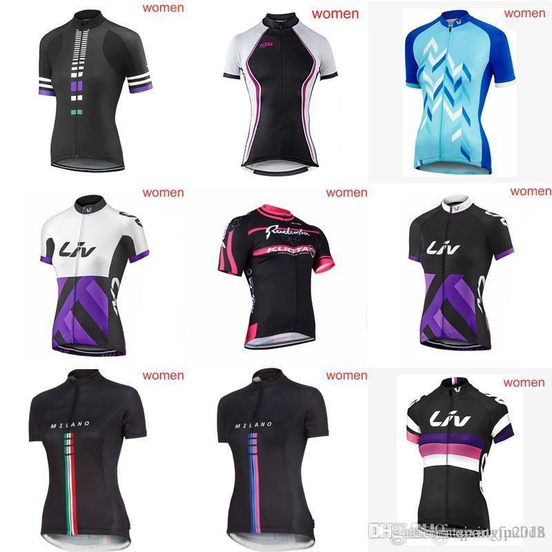 LIV KTM Team Cycling Short Sleeves Jersey Outdoor Short Sleeve Ladies Shirt  Quick Drying Sports T Shirt Running Ropa Ciclismo G0503 Tie Dye Shirts T  Shirts ... 7ffd309ea