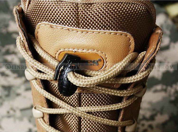 EDC Gear Tactique Bottes De Randonnée En Plein Air Chaussures Lacet Serrage Anti-Slip Buckle Shoelace Buckle Clip Livraison Gratuite