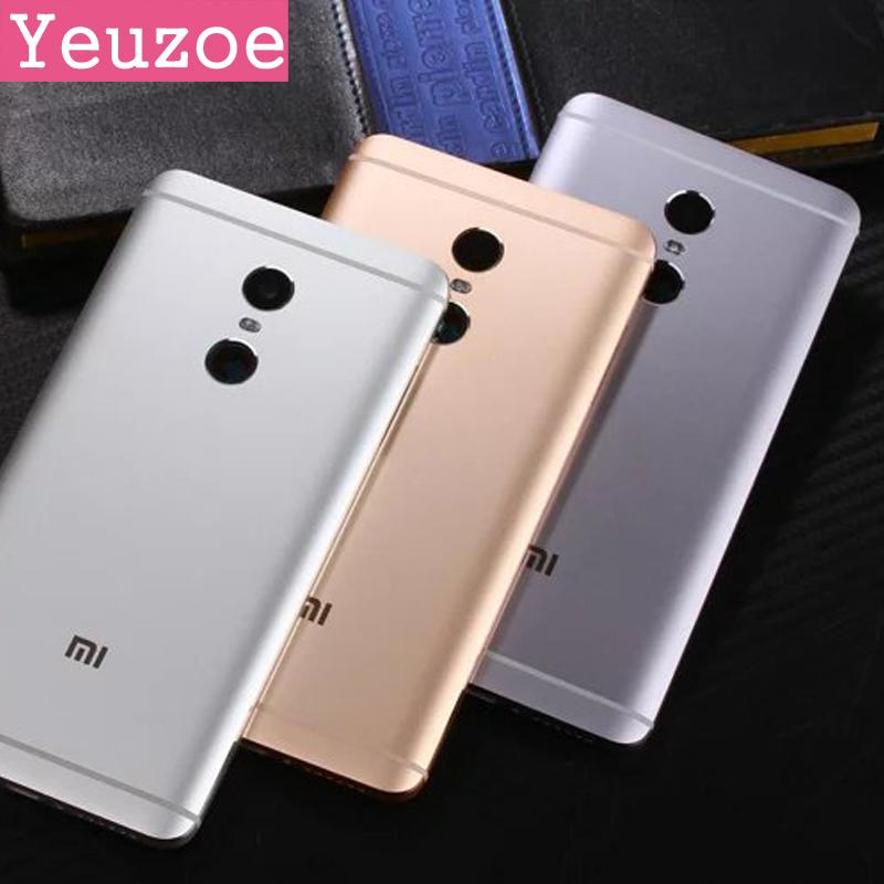 promo code 7008b 80599 Original phone Housing for Xiaomi Redmi Note 4 case Replacement Parts Metal  back Battery Cover case for Redmi Note4