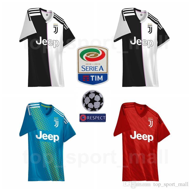 c27a7176bc0fd Compre 2019 2020 Juventus Futebol 7 RONALDO Jersey Homens Azul Preto  Vermelho 17 MANDZUKIC 10 DYBALA 14 MATUIDI 19 BONUCCI Camisa De Futebol  Kits Uniforme ...