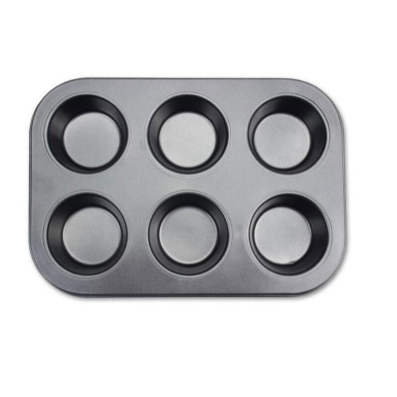 Grosshandel 6 Tasse Mini Non Stick Muffin Kuchenform Backformen