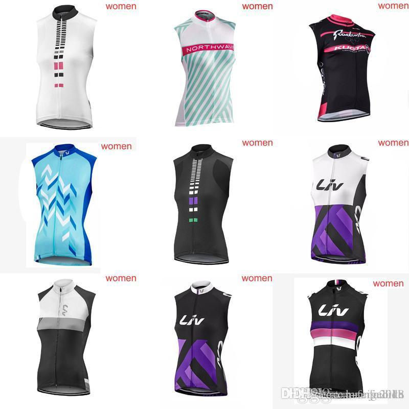 ORBEA LIV Team Cycling Sleeveless Jersey Vest The Latest Summer Woman  Sleeveless Mountain Bike Jersey Bicycle Clothing D420 Plaid Shirts Tie Dye  Shirts From ... b694f8d58