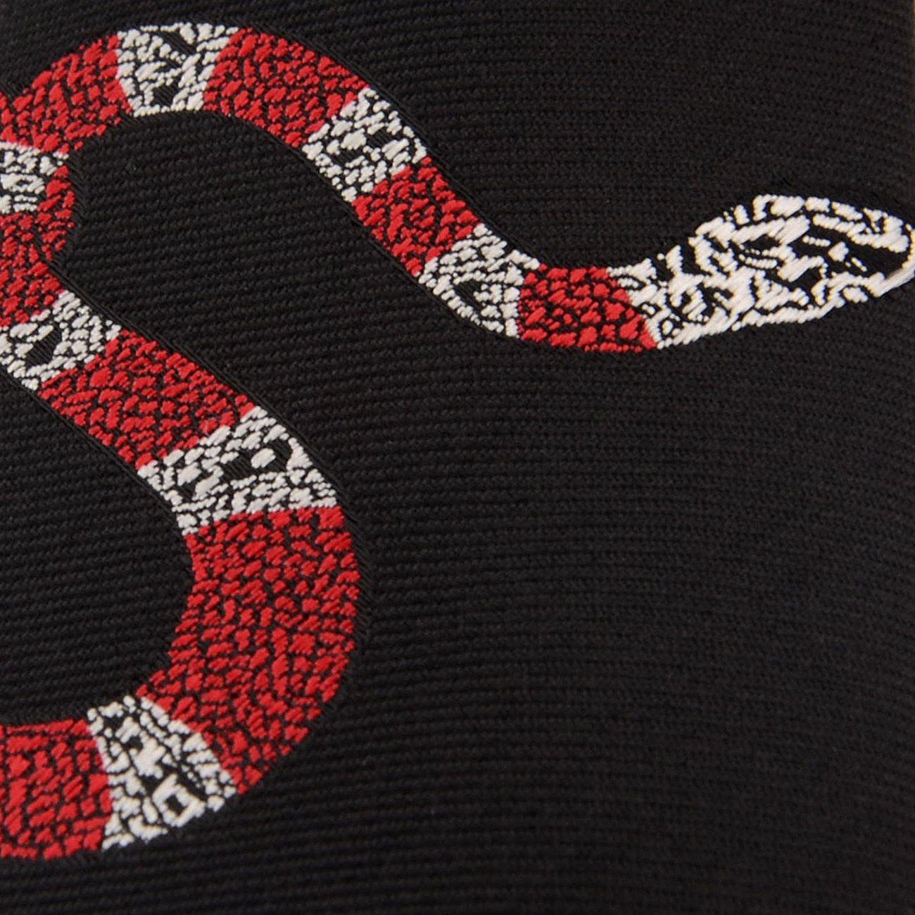 women\men fashion novelty Embroidery character animal fire red snake neck ties 6cm skinny slim Korea stropdas for heren\students