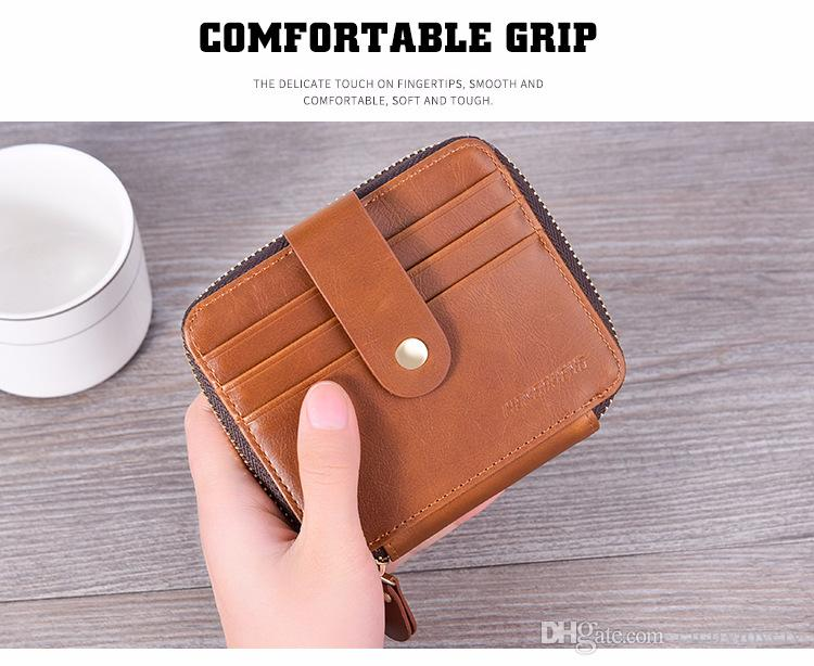 2018 Male luxury wallet Casual Short designer Card holder pocket Fashion Purse wallets for men wallets purse with tags 051418