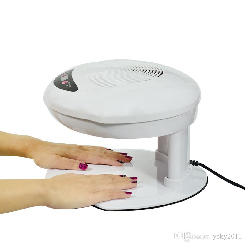2019 Nail Dryer Fan Curing Nail Gel Polish Hot&Cool Winds Quickly ...