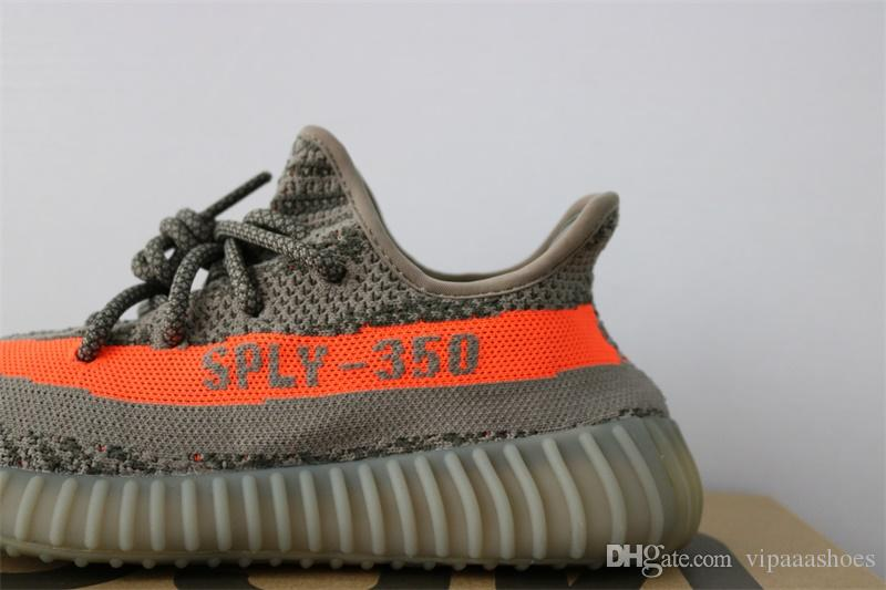 best authentic 625dc 656ad Adidas Yeezy Yeezys 350 Boost Zapatillas Para Hombre Blue Tint 350 V2 V1  Sneakers Moonrock Black Talla 13 Mujeres Sport Casual 2018 Zapatillas De  Running ...