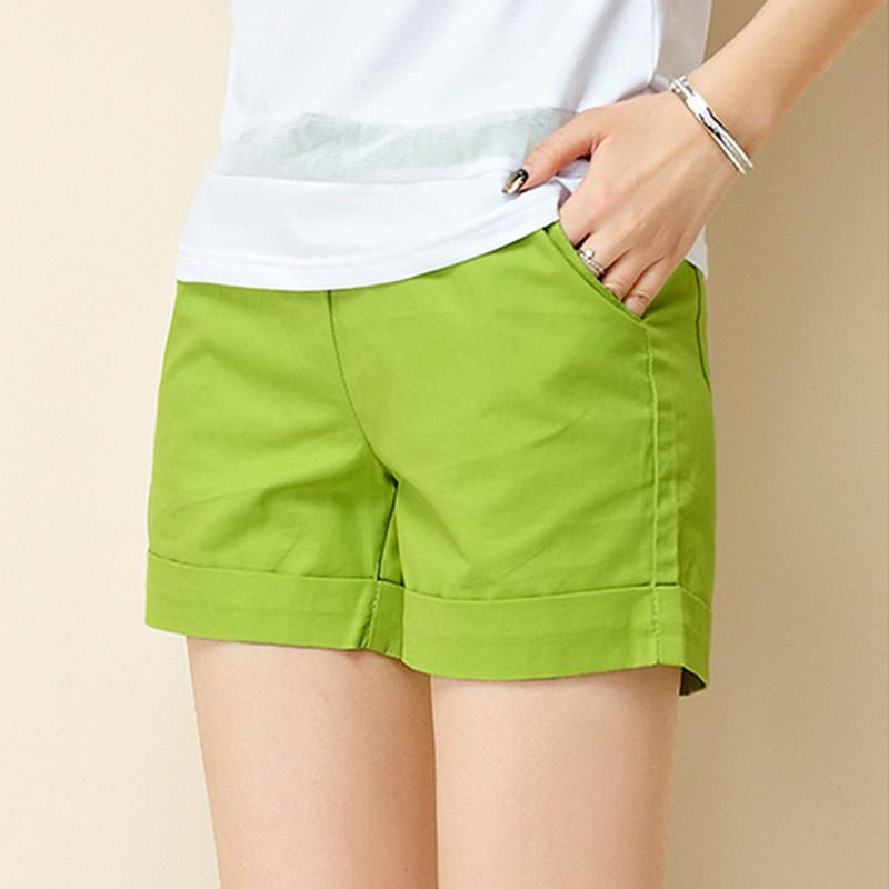 8e2e01cc7844 2018 New Summer Shorts Women Casual Fashion Candy Color Hot Sales Shorts  Female Plus Size Loose Ladies Leisure Shorts Online with $29.3/Piece on  Lixlon07's ...
