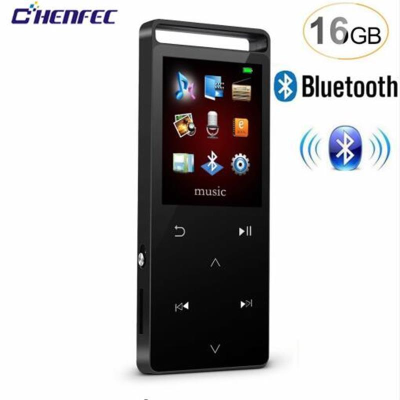 MP3 Music Player with Bluetooth 4.0, Metal Shell Touch Button Portable Lossless Digital Audio Player with FM Radio/Recorder