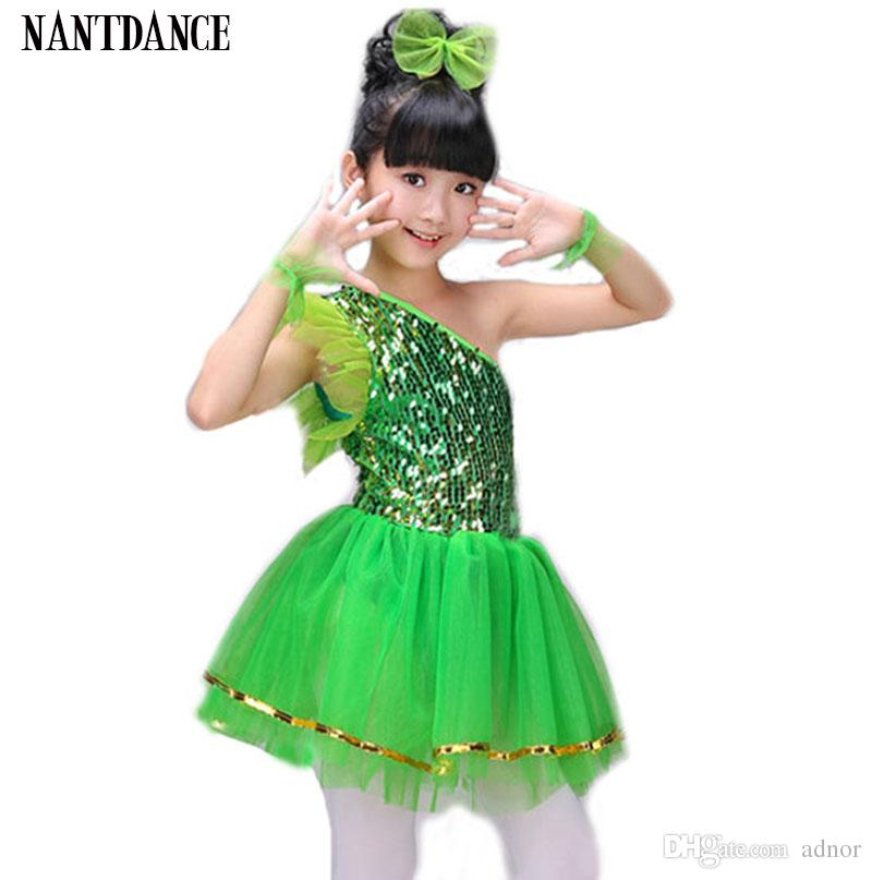 b408baaf1ad0 2019 Girl Tutu Dress Girls Dance Costumes Modern Stage Dance Costume Dance  Girl Dress Dancewear Dancing Dress Of Girl Stage Costumes For Kids From  Adnor, ...