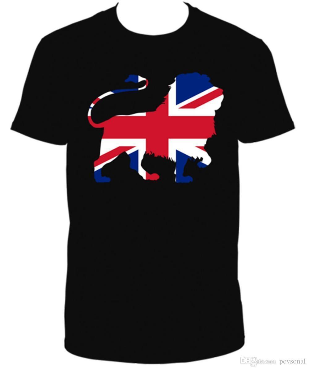 79a5febc9b9f BRITISH LION T.SHIRT 2017 Streetwear Short Sleeve Tees Brand Clothing Men T  Shirt Online Buy T Shirts Tna Shirts From Jie036, $12.08| DHgate.Com