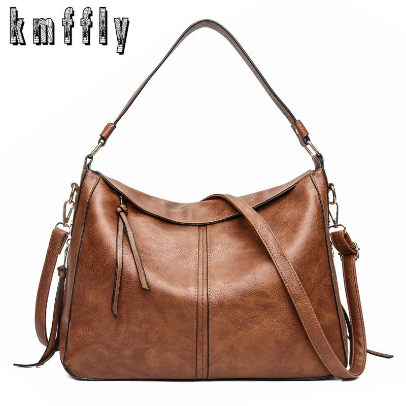 67ec797288a74 Luxury Handbags Women Shoulder Bag Large Tote Bags Hobo Soft Leather Ladies  Crossbody Messenger Bag For Women 2018 Sac A Main Y1890801 Ladies Bags  Leather ...