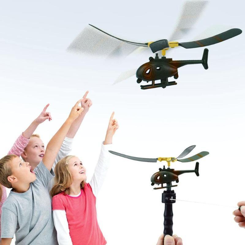 Hélicoptère Tirer Aviation Pour Cadeau Modèle Jouet Jouer Poignée Drôle Bébé L Enfants Avion YDbeW92EHI