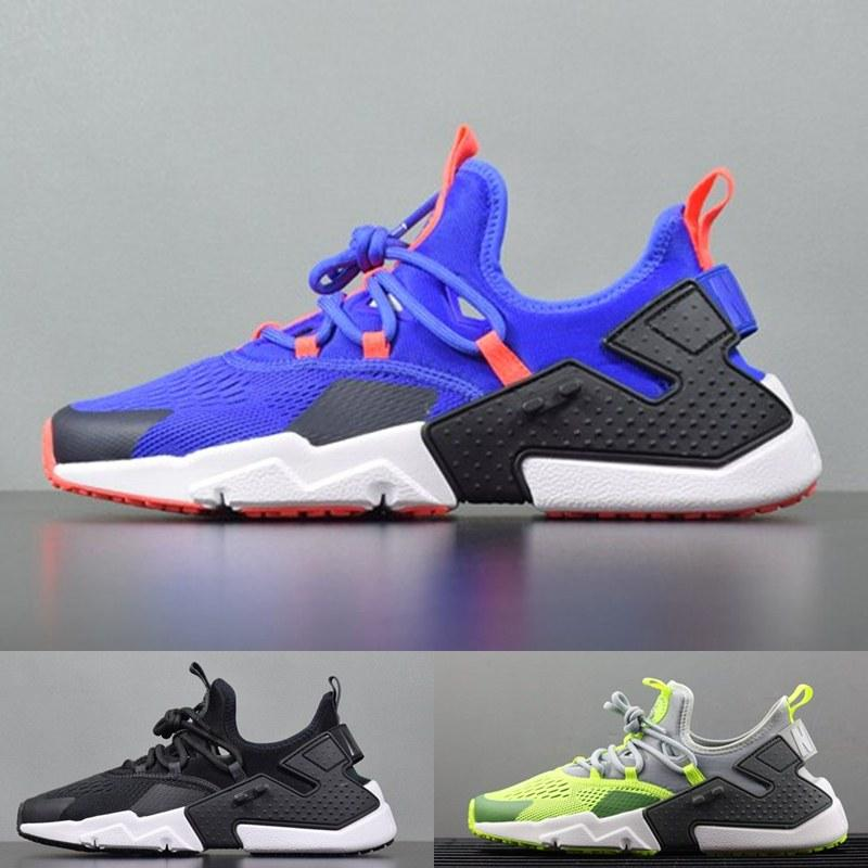 online store bb093 72e44 Top quality 2018 New Huarache 6.0 White Black Blue men Zapatos Huaraches  Shoes Sneakers Originals Classic Casual Running Shoes