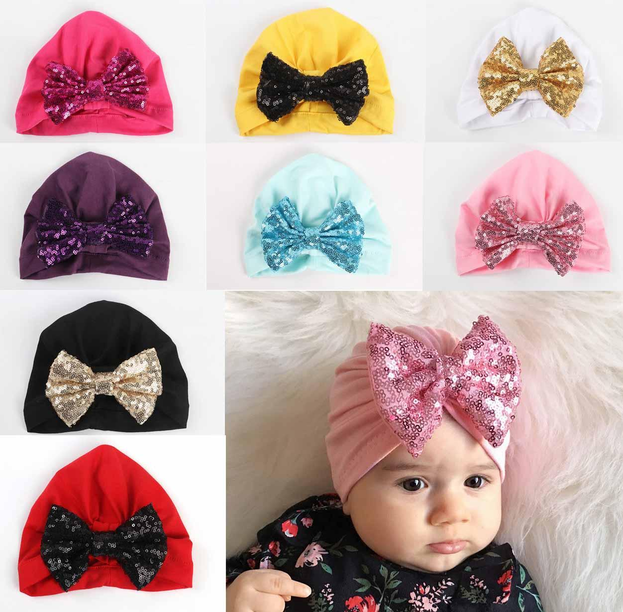 Baby Girl Bandanas Turban Head Wrap Girl Hat Indian Cap Shinning Bowknot  Headband Many Styles Kids Hair Accessories Baby Hair Accessories From  Shunhuico 7ca427ab87a