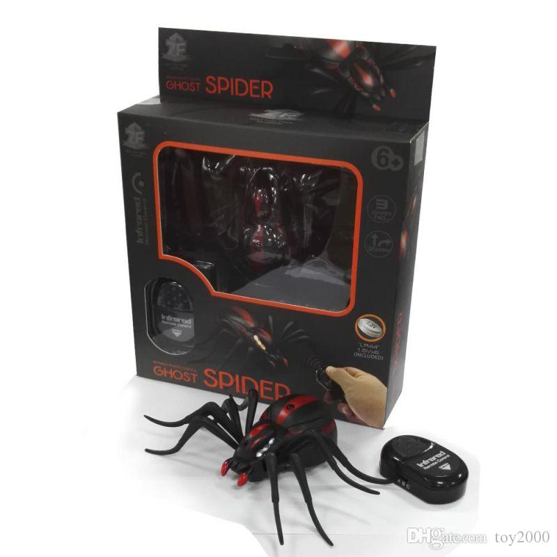 Infrared Ant Cockroache Spider remote control toy Mock Fake RC Trick Toy Animal Toy Bugs for Party Joke Practice Entertainmen for kids toys