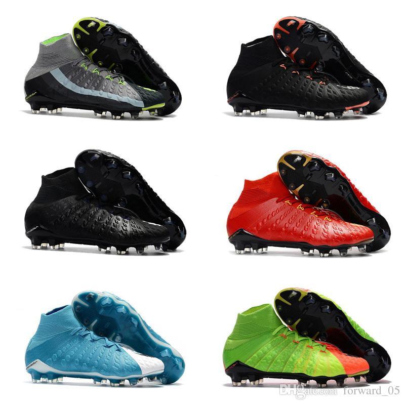Compre Mens Alta Tornozelo FG Chuteiras De Futebol Hypervenom Phantom III  DF Sapatos De Futebol Neymar IC Botas De Futebol Chuteiras Mens Futebol  Sapatos ... d9bfbaae5210f