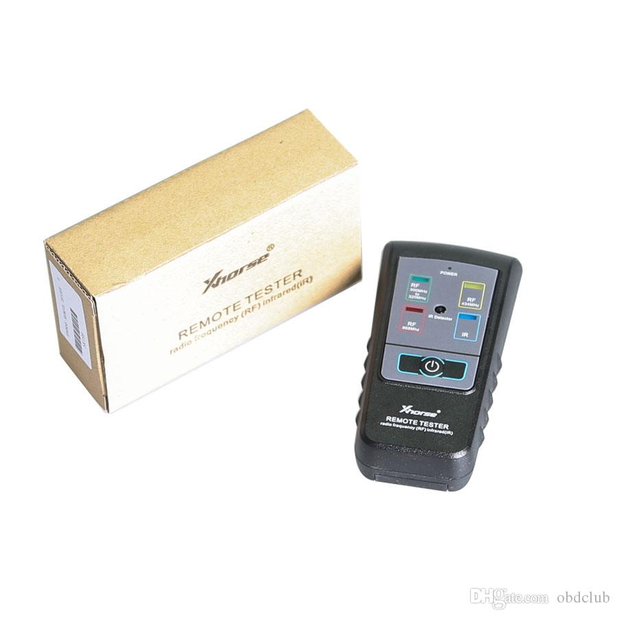 New Xhorse Remote Key Tester for Radio Frequency Tester RF Infrared IR Tester For 300Mhz-320hz/ 434Mhz /868Mhz