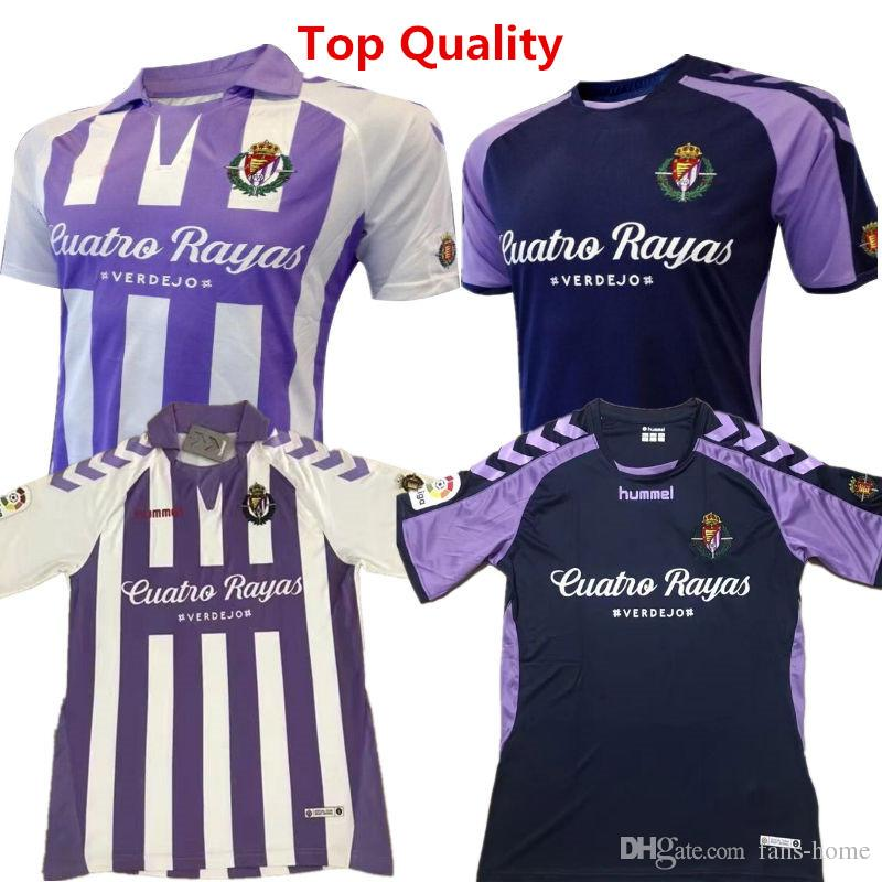 8bf5ad24c9c Soccer Jersey Spain LIGA Real Valladolid Home Football Shirts 2018 ...