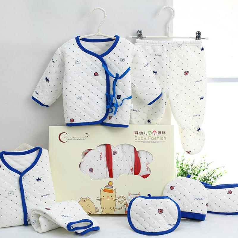 f4b854c0c2663 Cotton Newborn Baby Clothing Set For Girls Boys Toddler Baby Clothes New  Born Gift Set Soft Cute From Laurul, $21.13 | DHgate.Com