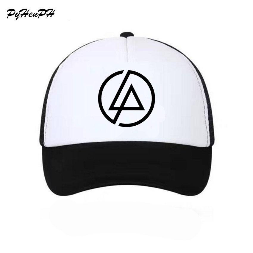3647e93a8ef Linkin Park Snapback Mesh Baseball Cap Men Net Cap Hip Hop Couple Lover S  Hat For Women Men Unisex Adult Baseball Caps Baby Caps 47 Brand Hats From  Saucy