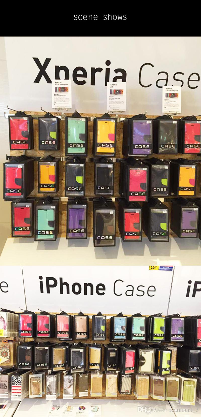 Wholesale Custom High Quality Phone Case Packaging Hard Gift Box for iPhone 6 6 Plus X Case Leather Cover Packing