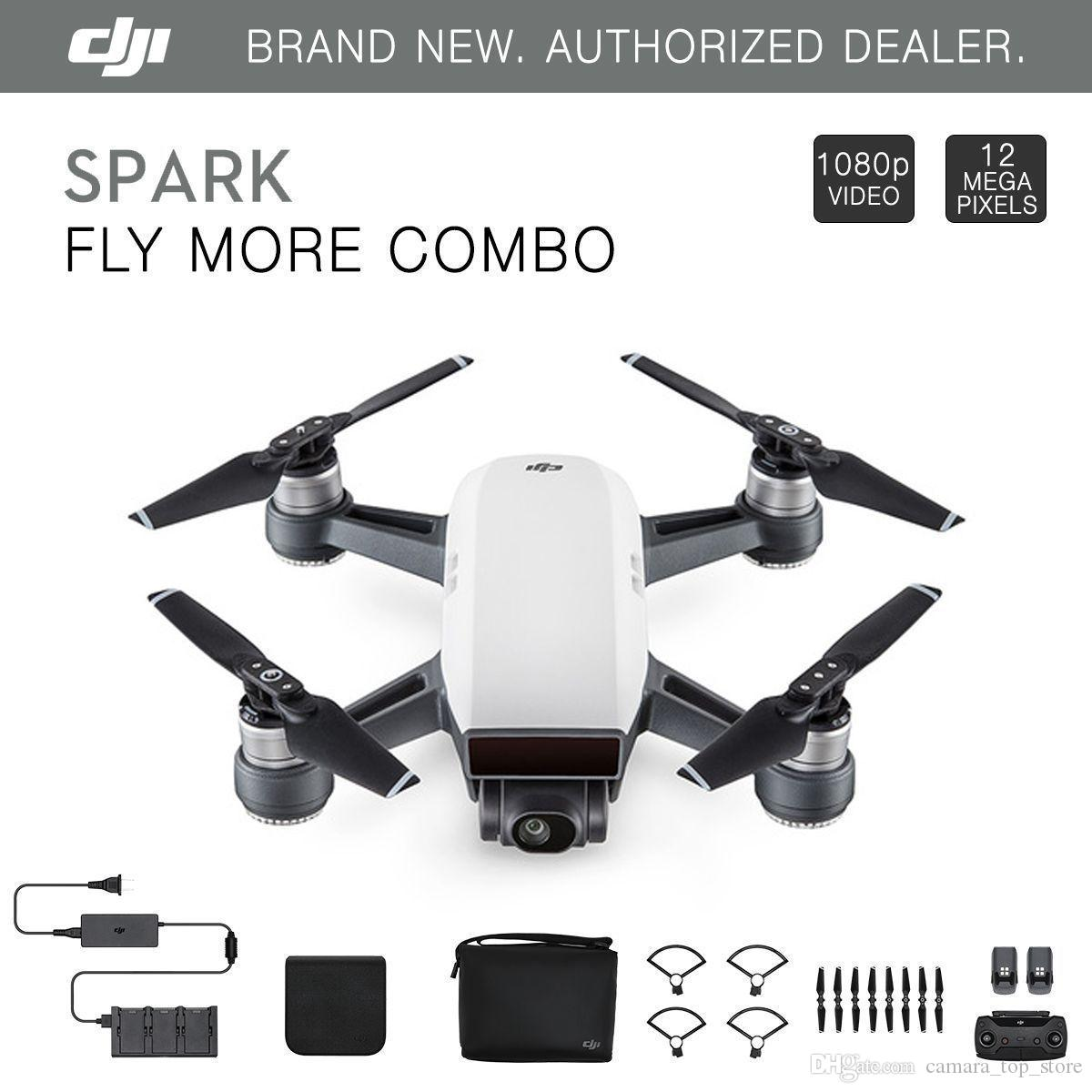 Dji SPARK RC Helicopters FPA Quadcoter DJI GO 4 RC Intelligent Mini  Helicopters 1080p camera for children gift