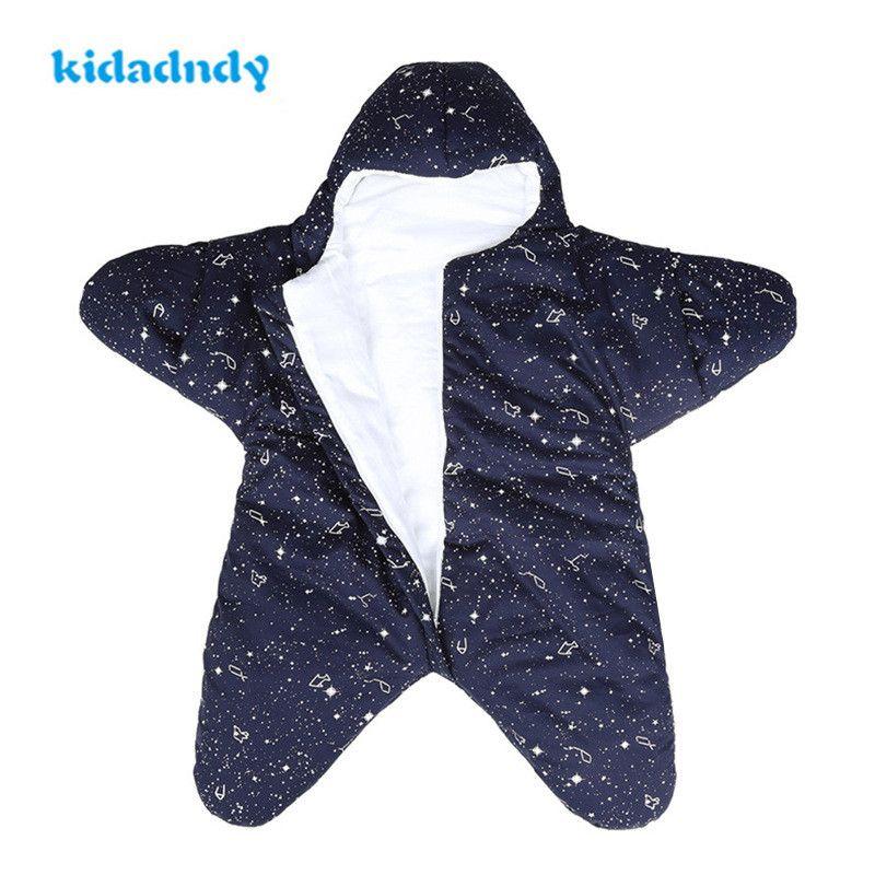 Kidadndy Baby Newborn Cool Color Sleeping Bag Small Starfish Baby