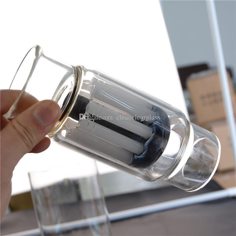 Vetro perc con seme di vita perc e braccio albero perc Può essere utilizzato su prodotti in gomma